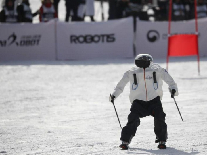 Olympic winter games for robots